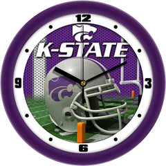 Kansas State Wildcats Football Helmet Wall Clock
