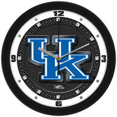 Kentucky Wildcats Carbon Fiber Wall Clock