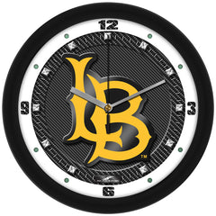 Long Beach State 49ers Carbon Fiber Wall Clock
