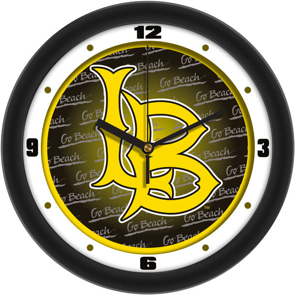 Long Beach State 49ers Dimension Wall Clock
