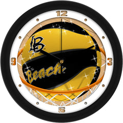 Long Beach State 49ers Slam Dunk Wall Clock