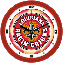 Louisiana Lafayette Ragin Cajuns Dimension Wall Clock