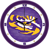LSU Tigers Dimension Wall Clock