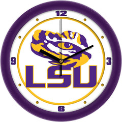 LSU Tigers Traditional Wall Clock