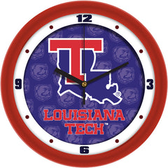Louisiana Tech Bulldogs Dimension Wall Clock