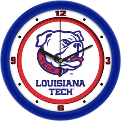 Louisiana Tech Bulldogs Traditional Wall Clock