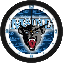 Maine Black Bears Dimension Wall Clock