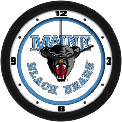Maine Black Bears Traditional Wall Clock