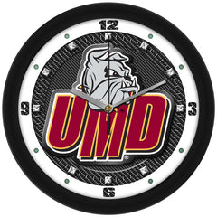 Minnesota Duluth Bulldogs Carbon Fiber Wall Clock