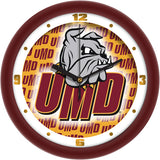 Minnesota Duluth Bulldogs Dimension Wall Clock