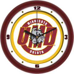 Minnesota Duluth Bulldogs Traditional Wall Clock