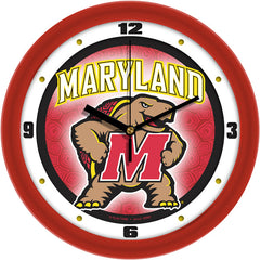 Maryland Terrapins Dimension Wall Clock