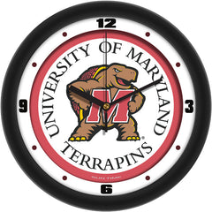 Maryland Terrapins Traditional Wall Clock