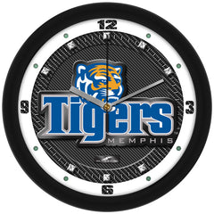 Memphis Tigers Carbon Fiber Wall Clock