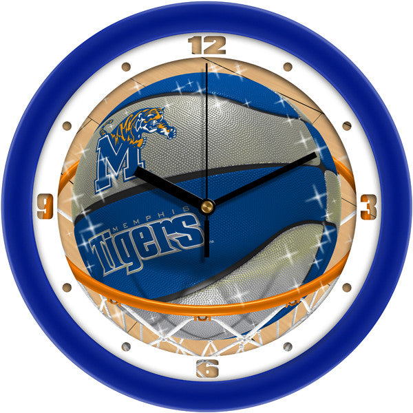 Memphis Tigers Slam Dunk Wall Clock