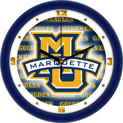 Marquette Golden Eagles Dimension Wall Clock