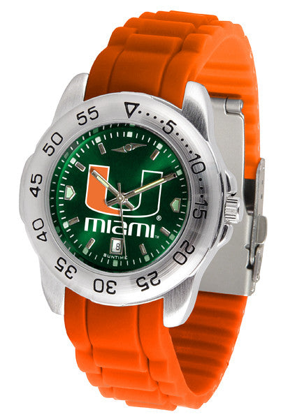 Miami Hurricanes Sport AC Anochrome Watch