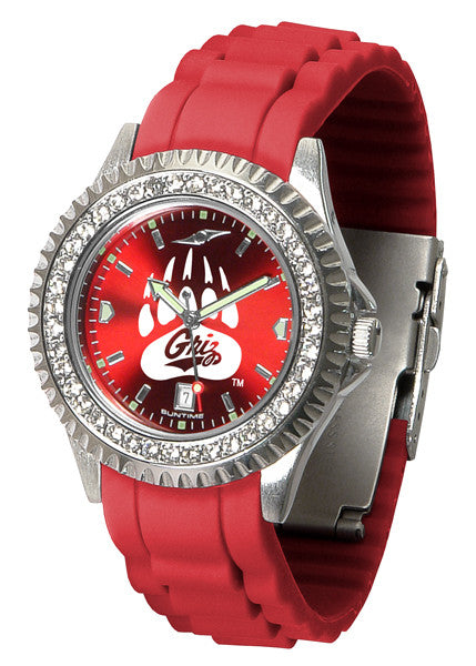 Montana Grizzlies Womens Sparkle Watch