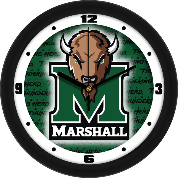 Marshall Thundering Herd Dimension Wall Clock