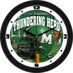 Marshall Thundering Herd Football Helmet Wall Clock