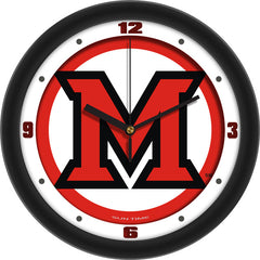 Miami Redhawks Traditional Wall Clock