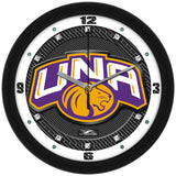 North Alabama Lions Carbon Fiber Wall Clock