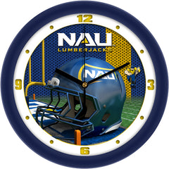Northern Arizona Lumberjacks Football Helmet Wall Clock