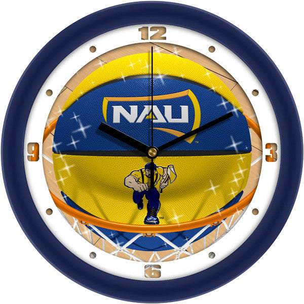 Northern Arizona Lumberjacks Slam Dunk Wall Clock