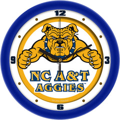 North Carolina A&T Aggies Traditional Wall Clock