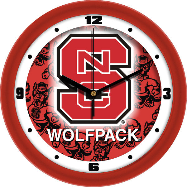 North Carolina State Wolfpack Dimension Wall Clock