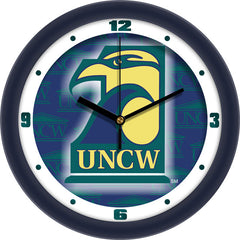 North Carolina Wilmington Seahawks Dimension Wall Clock
