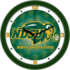 North Dakota State Bison Dimension Wall Clock