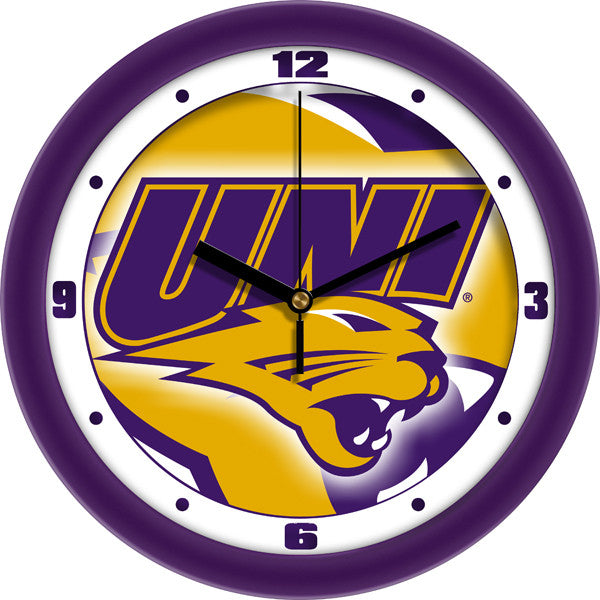 Northern Iowa Panthers Dimension Wall Clock