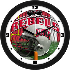 UNLV Rebels Football Helmet Wall Clock