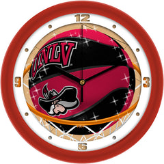UNLV Rebels Slam Dunk Wall Clock