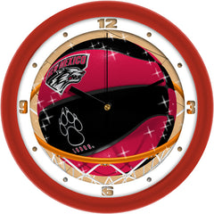 New Mexico Lobos Slam Dunk Wall Clock