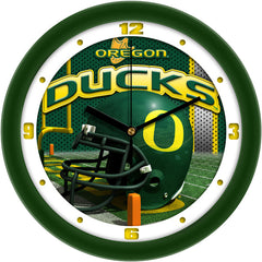 Oregon Ducks Football Helmet Wall Clock