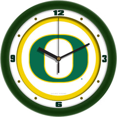 Oregon Ducks Traditional Wall Clock