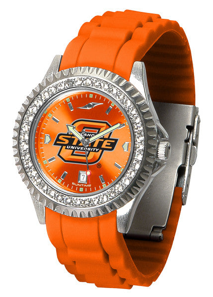 Oklahoma State Cowboys Womens Sparkle Watch