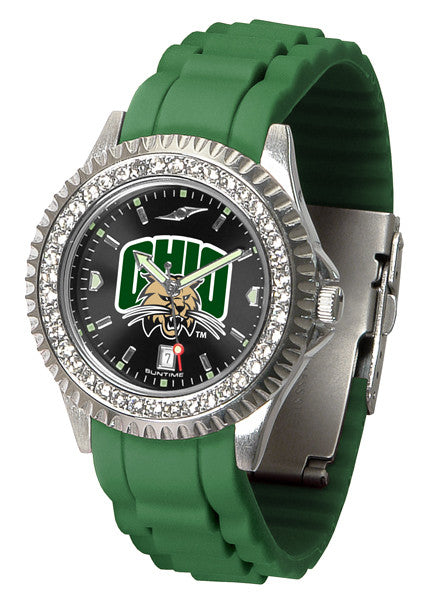 Ohio Bobcats Womens Sparkle Watch