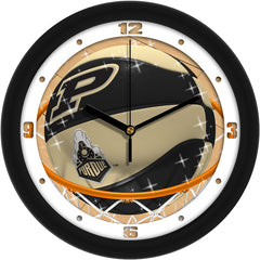 Purdue Boilermakers Slam Dunk Wall Clock
