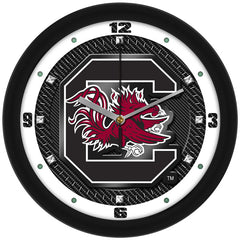 South Carolina Gamecocks Carbon Fiber Wall Clock