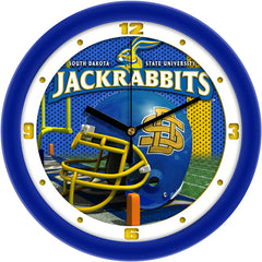 South Dakota State Jackrabbits Football Helmet Wall Clock