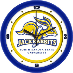 South Dakota State Jackrabbits Traditional Wall Clock