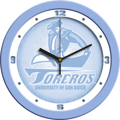 San Diego Toreros Blue Wall Clock