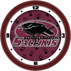 Southern Illinois Salukis Dimension Wall Clock