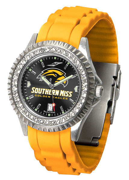 Southern Mississippi Golden Eagles Womens Sparkle Watch