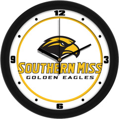Southern Mississippi Golden Eagles Traditional Wall Clock