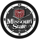 Missouri State Bears Carbon Fiber Wall Clock