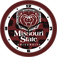 Missouri State Bears Dimension Wall Clock